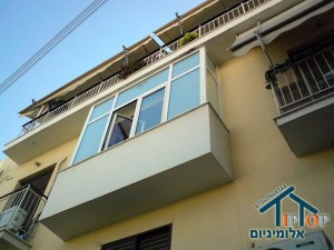 סגירת מרפסות בחלונות אלומיניום