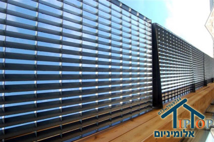 סנסציוני גדרות אלומיניום - Tip Top אלומיניום DW-28