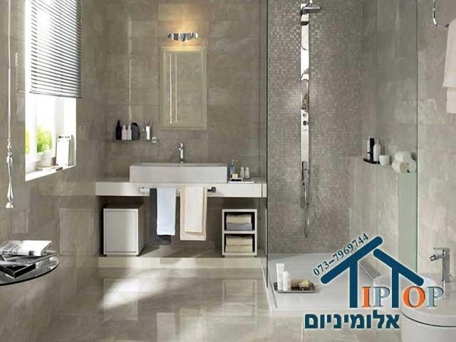 מקלחונים גובה תקרה