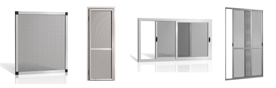 מדהים רשתות לחלונות - Tip Top אלומיניום RV-66
