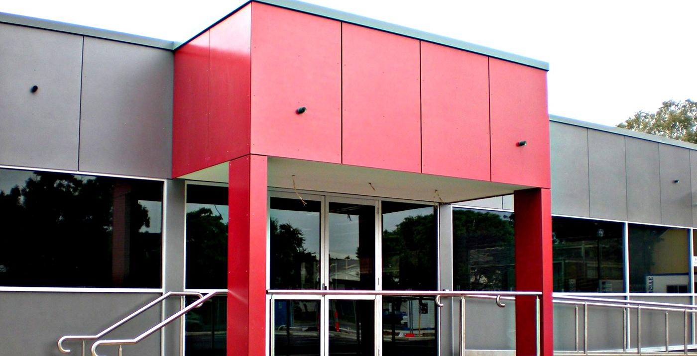 חיפוי קסטות אלומיניום לבניין