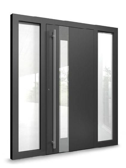 דלתות אלומיניום בעיצובים מיוחדים